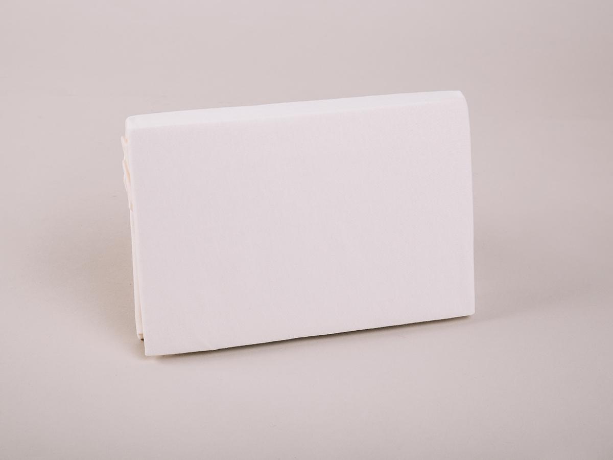 Jersey baby gumis lepedő, 70x140cm 0101030255 - vanilia