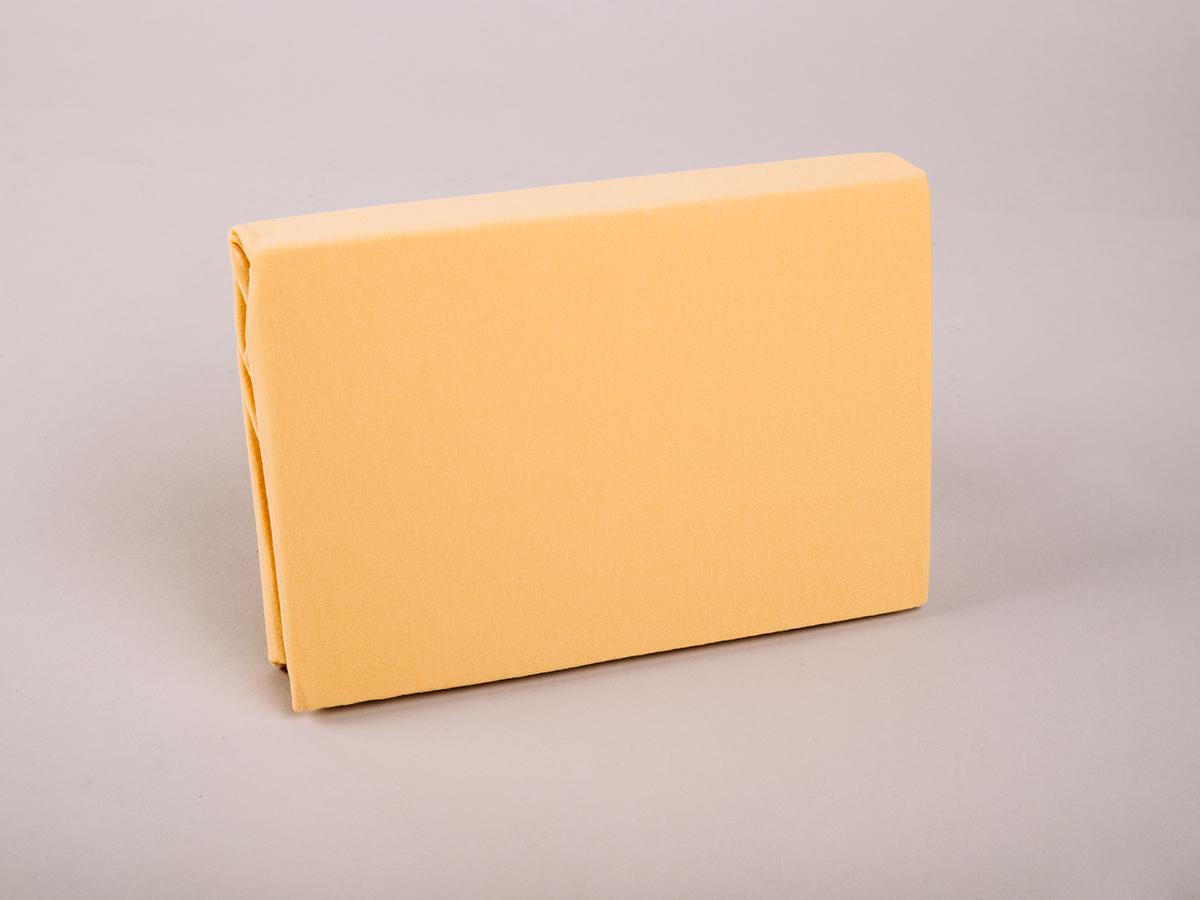 Jersey baby gumis lepedő, 70x140cm 0101030260 - kukoricasárga