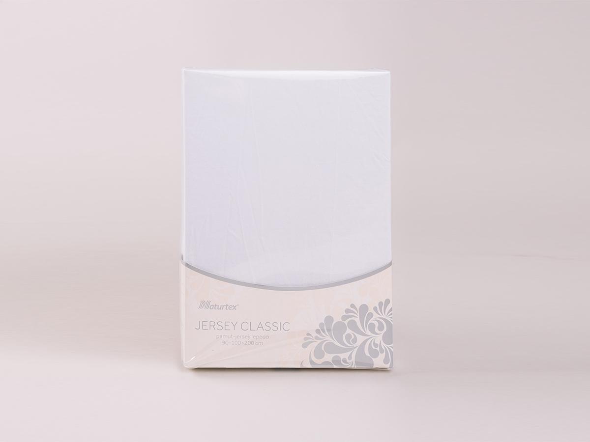 Jersey gumis lepedő 180-200x200cm 0101030295 - fehér