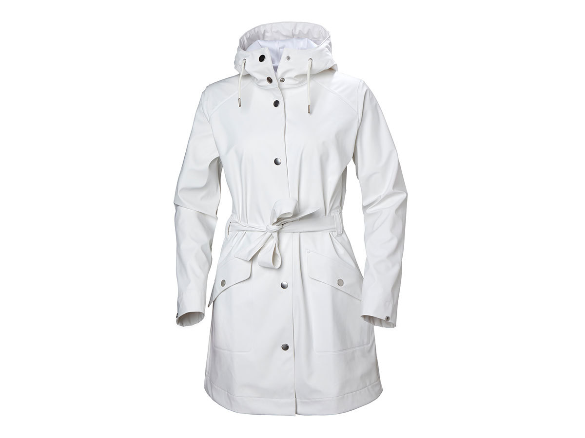 Helly Hansen W KIRKWALL II RAINCOAT - OFFWHITE - L (53252_011-L )
