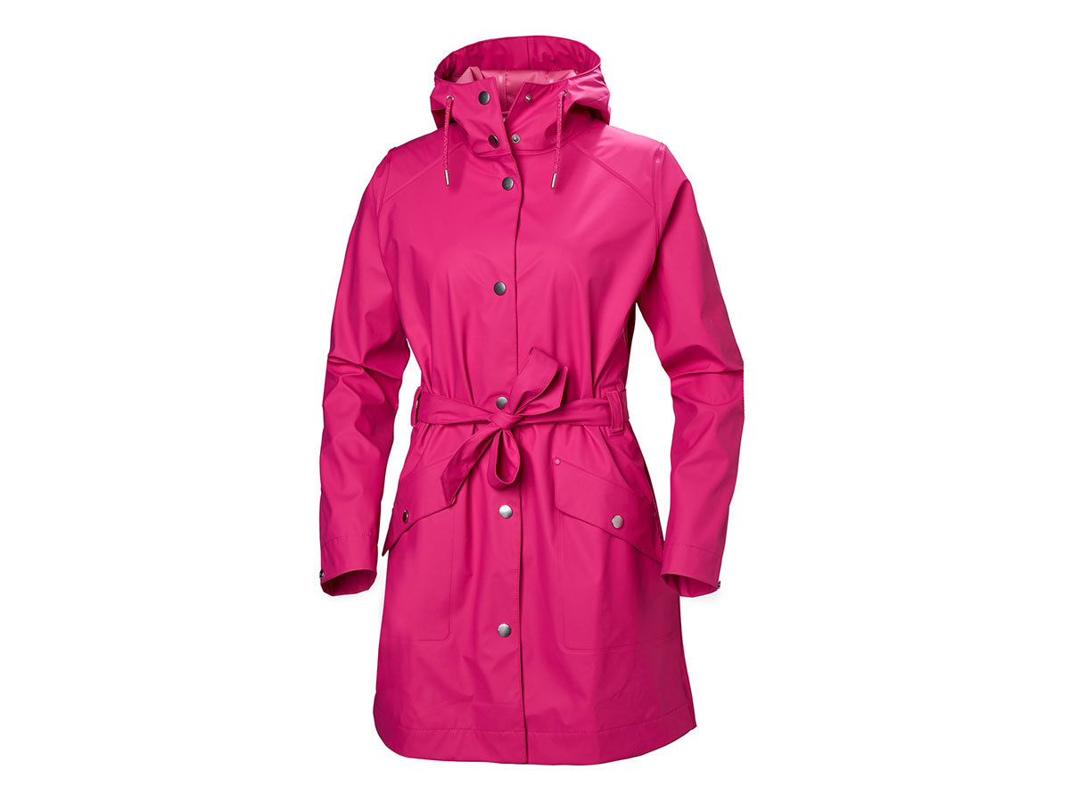 Helly Hansen W KIRKWALL II RAINCOAT - DRAGON FRUIT - M (53252_181-M )