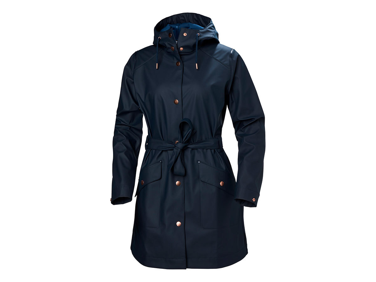 Helly Hansen W KIRKWALL II RAINCOAT - NAVY - L (53252_597-L )