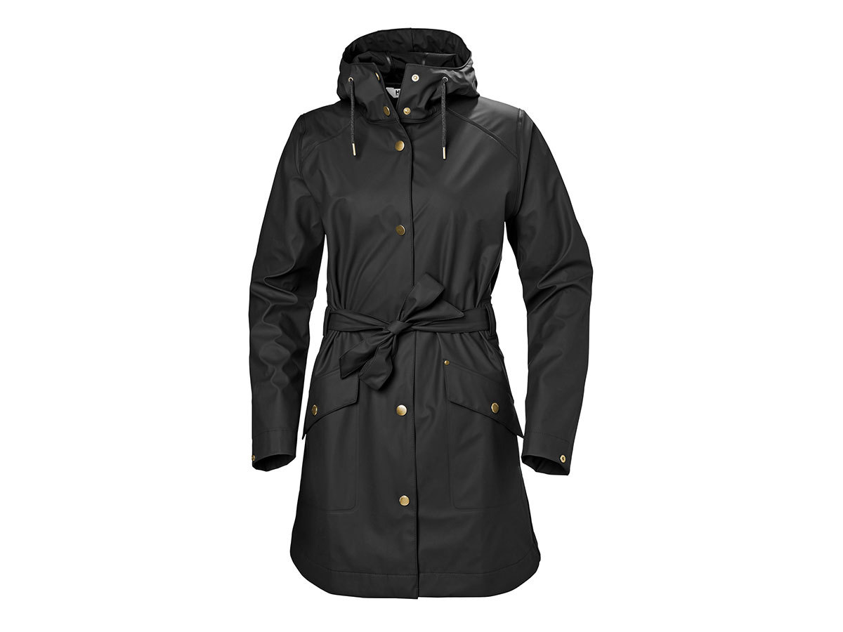Helly Hansen W KIRKWALL II RAINCOAT - BLACK - XS (53252_990-XS )