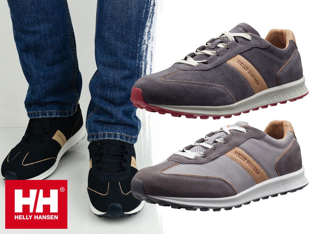 Helly Hansen BARLIND férfi sportcipő terepfutáshoz és szabadidős tevékenységekhez, velúr bőr felsőrésszel, kényelmes EVA talpbetéttel (40,5-46,5)