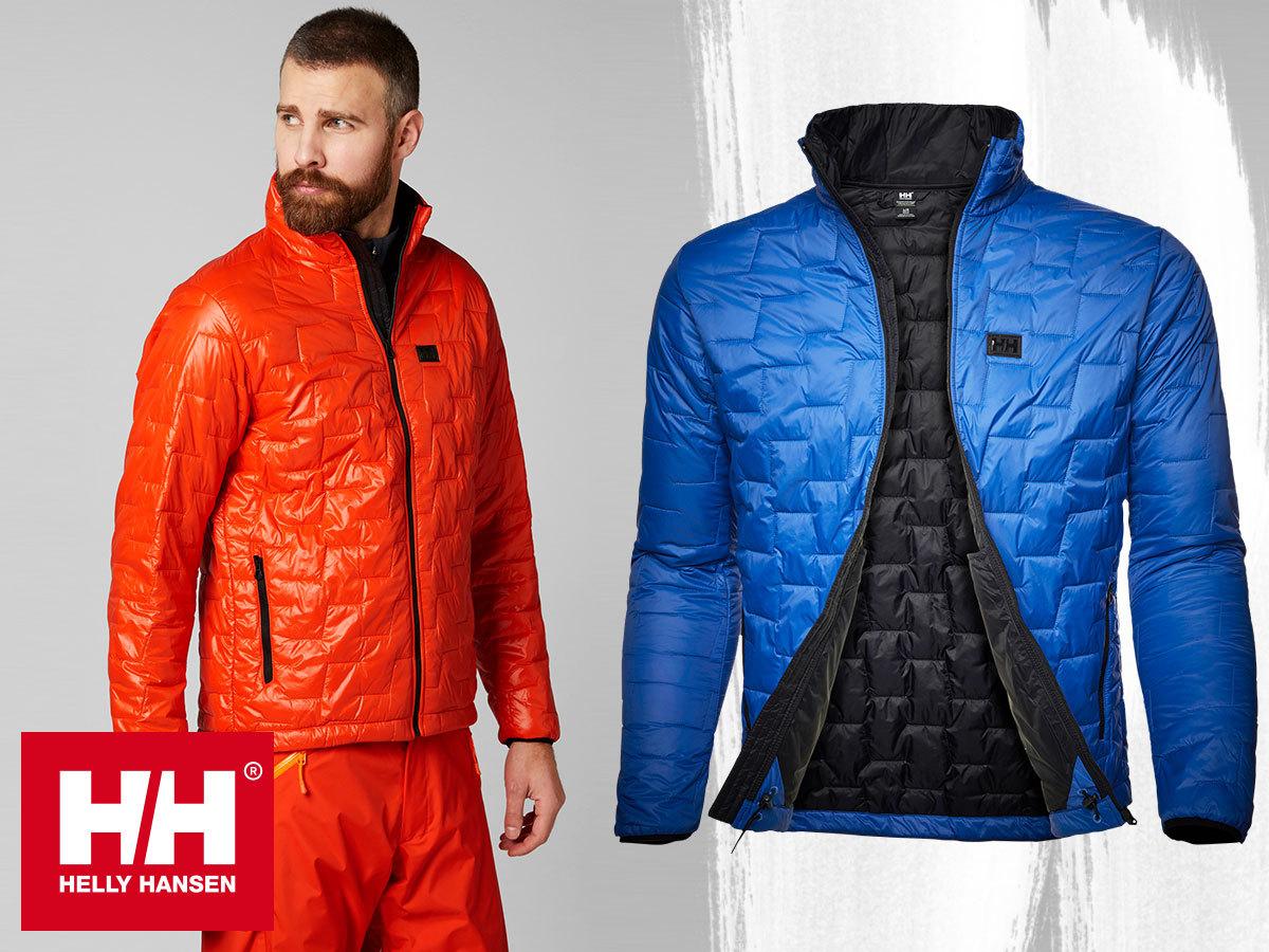 Helly Hansen LIFALOFT INSULATOR JACKET & SHIRT férfi dzseki és ing extra könnyű, mégis meleg, víztaszító, szélálló kialakítással