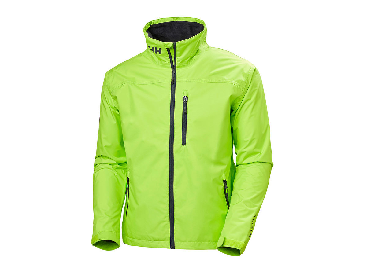 Helly Hansen CREW JACKET - AZID LIME - S (30263_402-S )