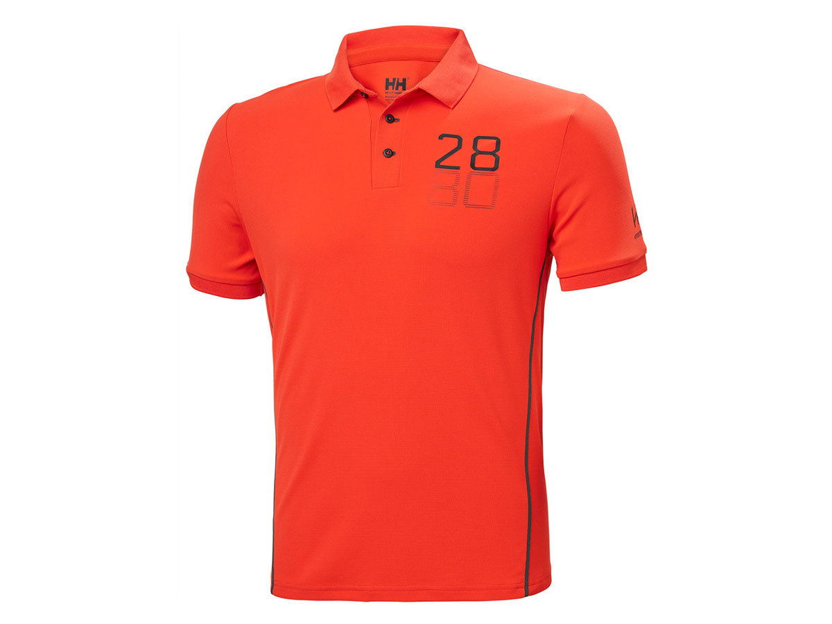 Helly Hansen HP RACING POLO - CHERRY TOMATO - L (34172_147-L )