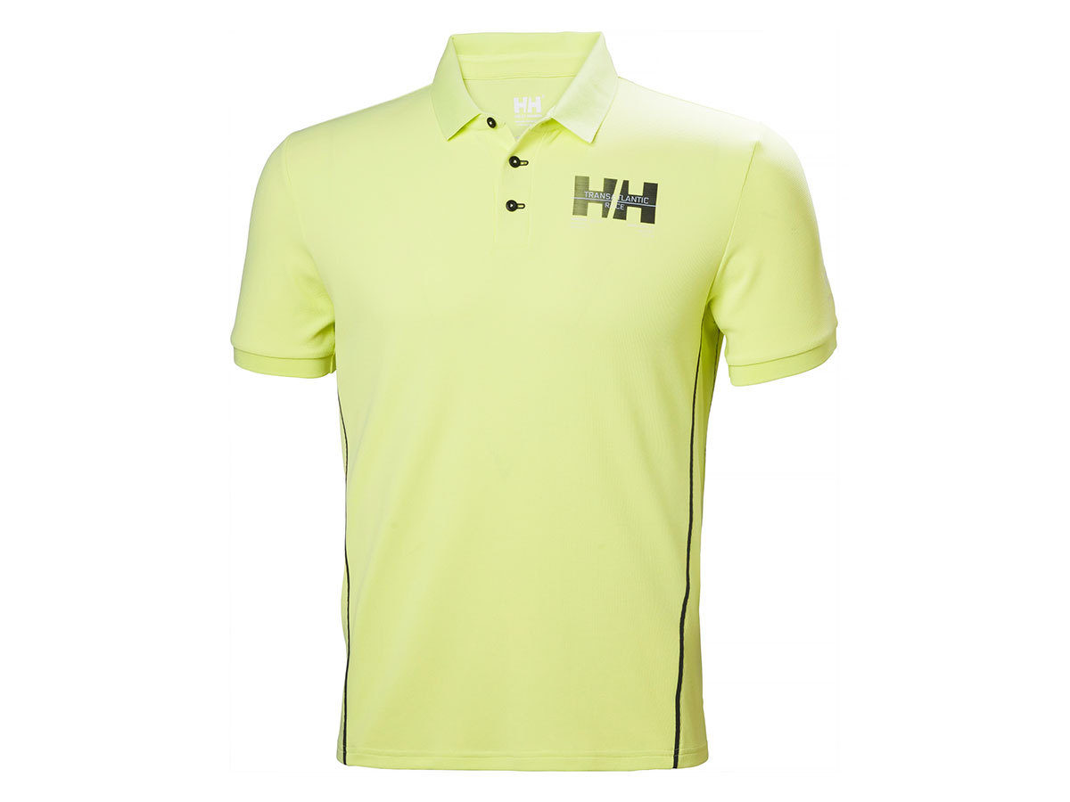 Helly Hansen HP RACING POLO - SUNNY LIME - L (34172_379-L )