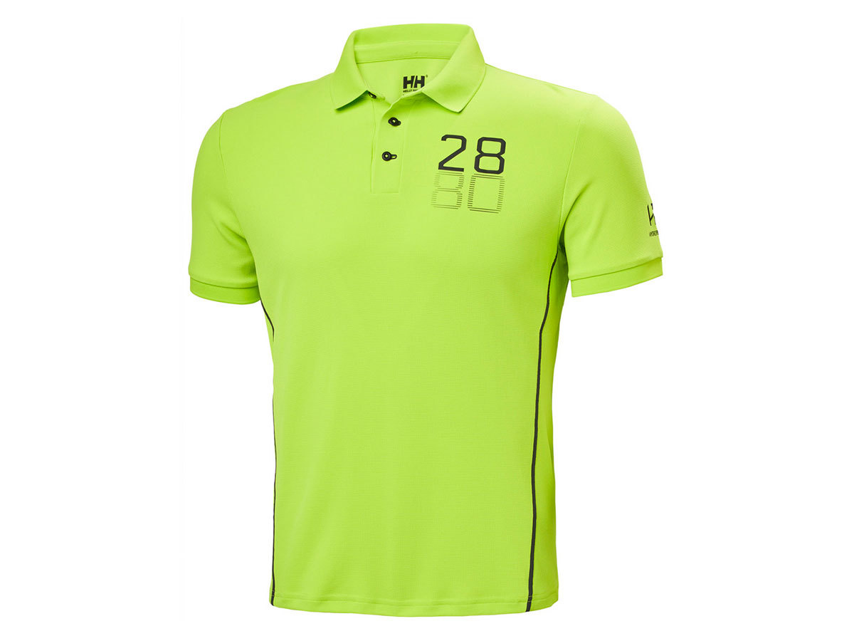 Helly Hansen HP RACING POLO - AZID LIME - L (34172_402-L )
