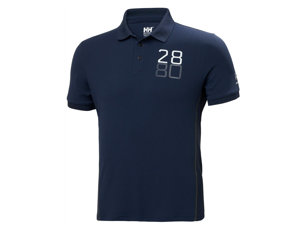 Helly Hansen HP RACING POLO - NAVY - L (34172_597-L )