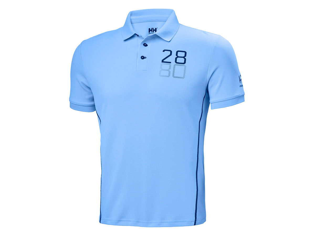 Helly Hansen HP RACING POLO - COAST BLUE - XL (34172_608-XL )