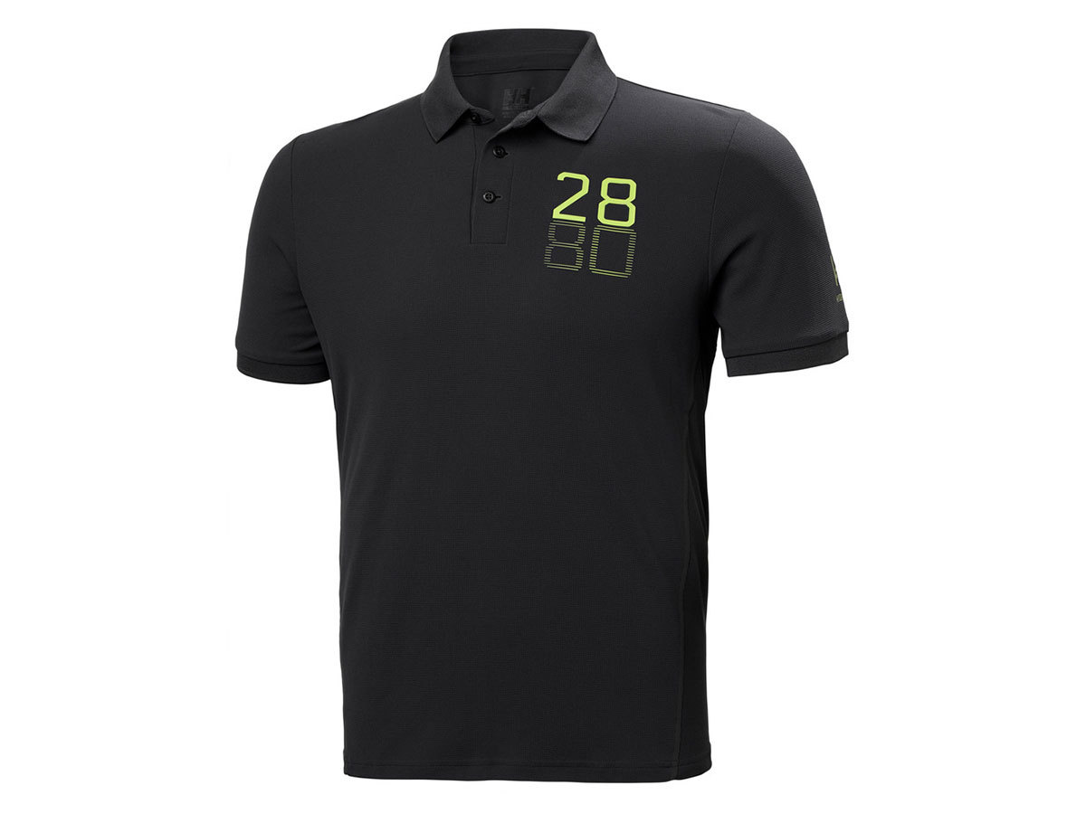 Helly Hansen HP RACING POLO - EBONY - M (34172_980-M )