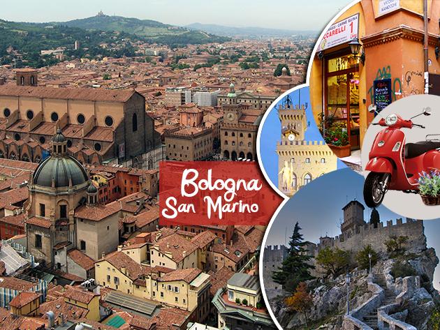 Tavaszi körút Bolognában és San Marinoban (3 nap/fő) utazás + szállás reggelivel + idegenvezető  43.990 Ft-ért!