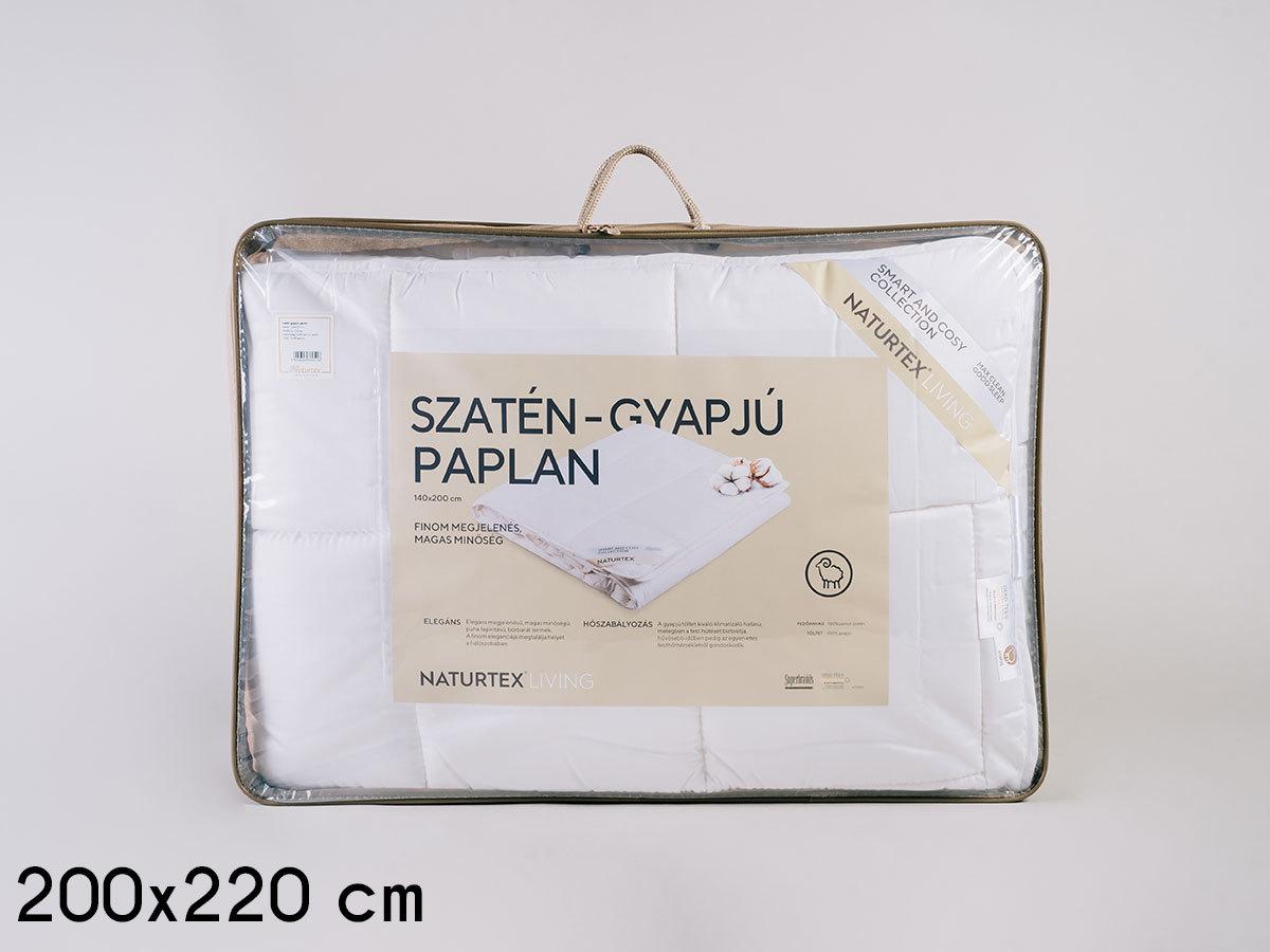 Szatén-gyapjú paplan (200x220) 1500g