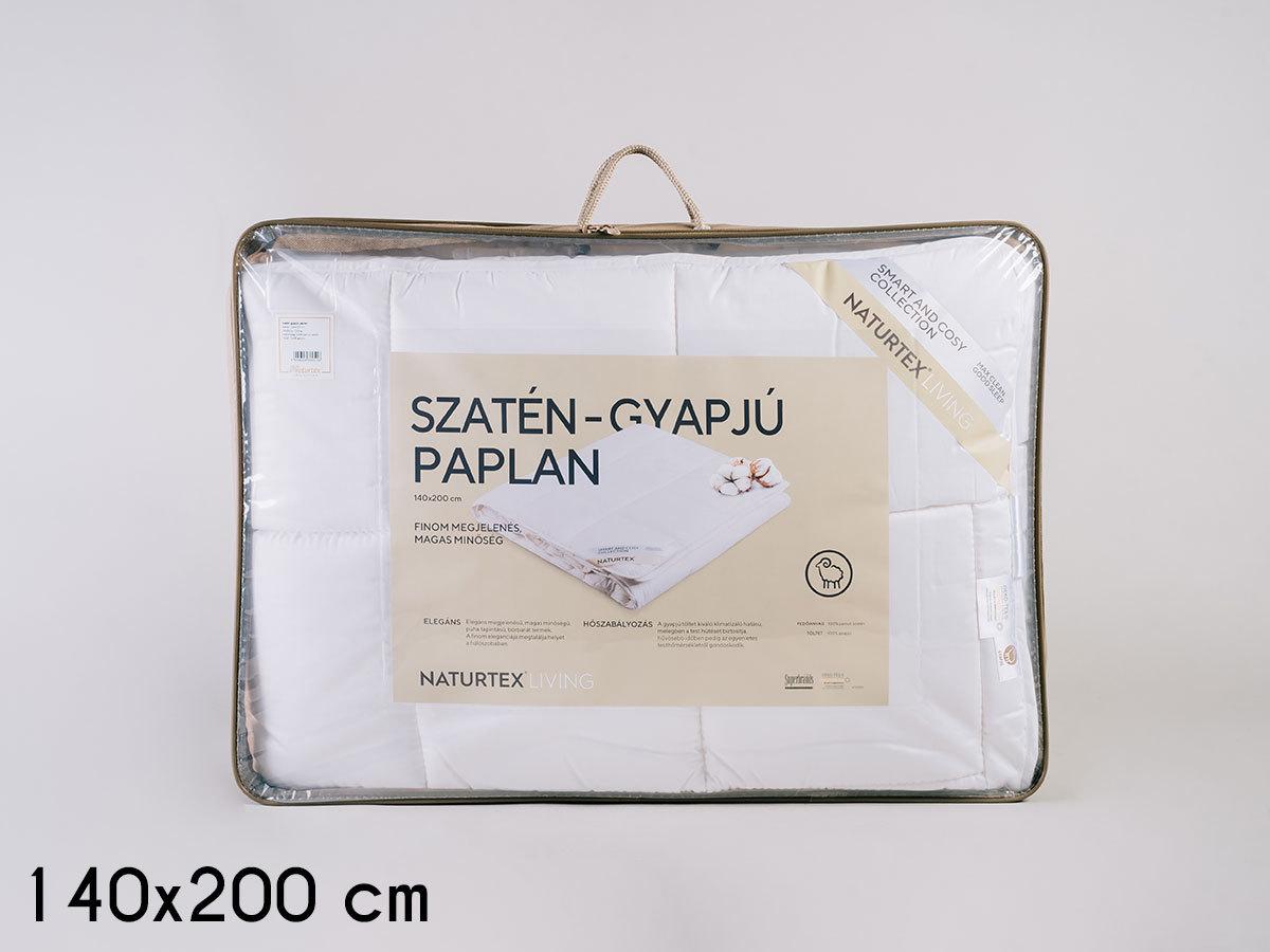 Szatén-gyapjú paplan (140x200) 1200g