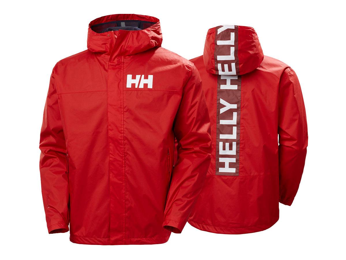 Helly Hansen ACTIVE 2 JACKET - ALERT RED - XXL (53279_222-2XL )