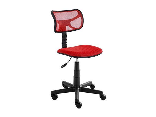 Alacsony háttámlás irodai szék - HOP1000997 - PIROS