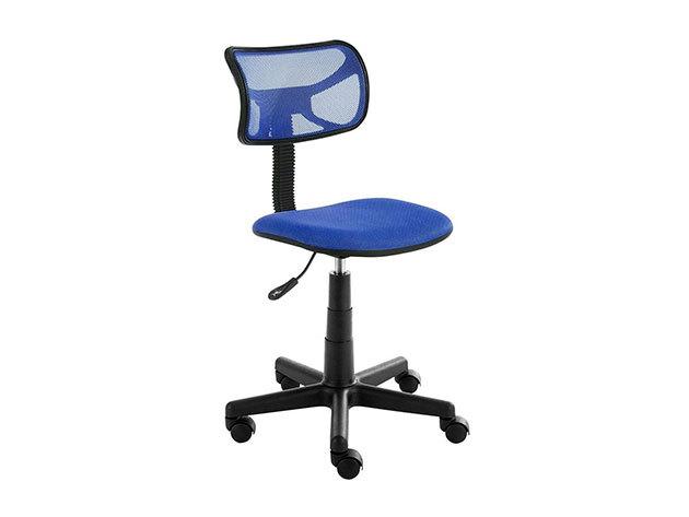Alacsony háttámlás irodai szék - HOP1000997 - KÉK
