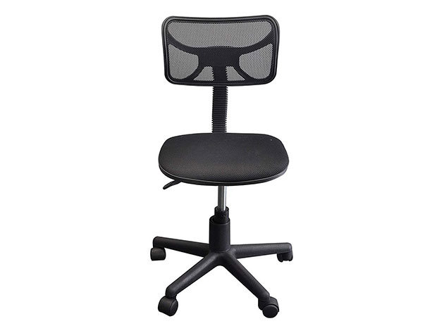 Alacsony háttámlás irodai szék - HOP1000997 - FEKETE