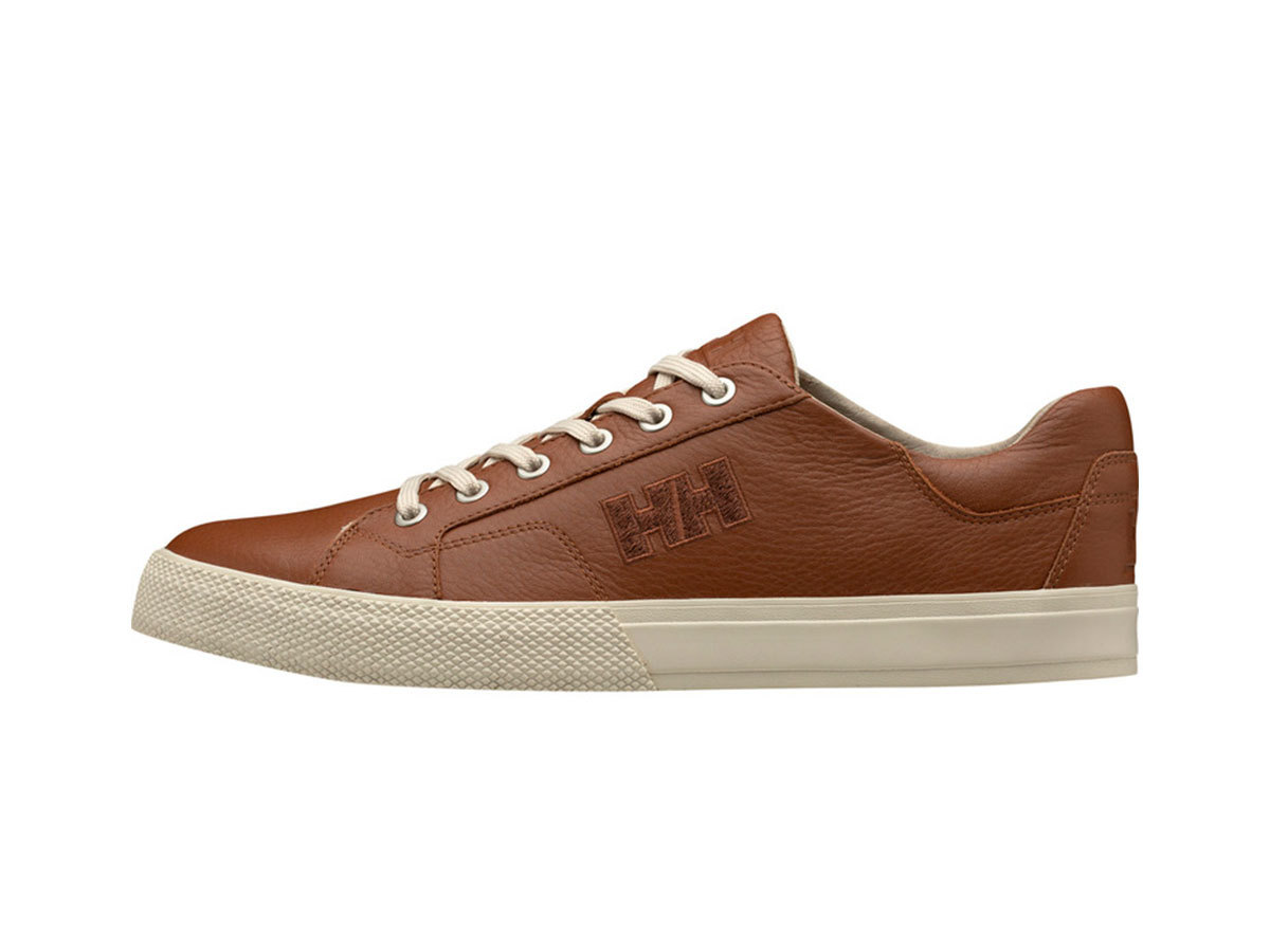 Helly Hansen FJORD LV-2 - LEATHER BROWN / CREAM / O - EU 42/US 8.5 (11303_720-8.5 ) - AZONNAL ÁTVEHETŐ