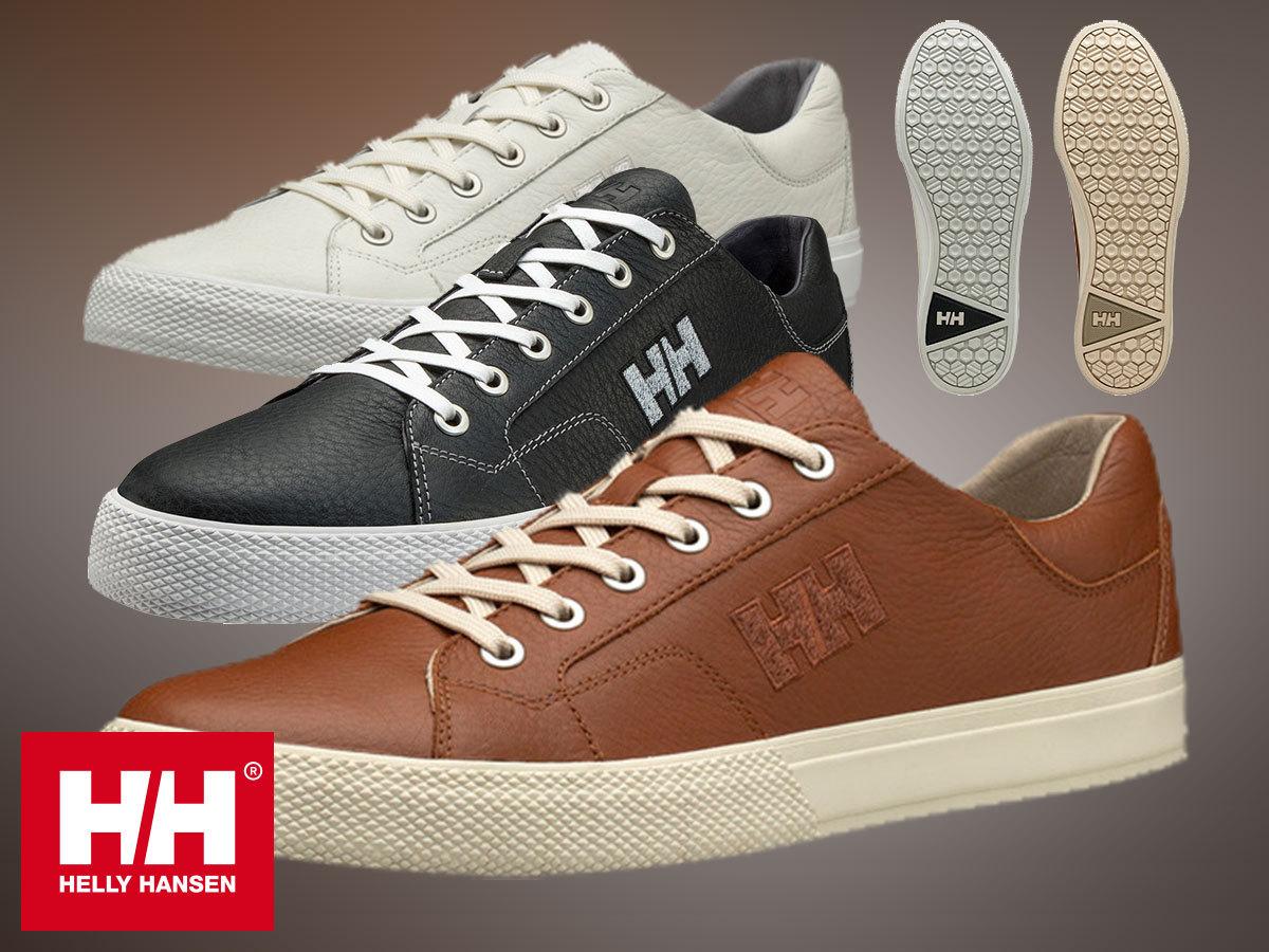 Helly Hansen FJORD LV-2 stílusos bőr sportcipő férfiaknak, kényelmes EVA talpbetéttel (40-48 méretben)