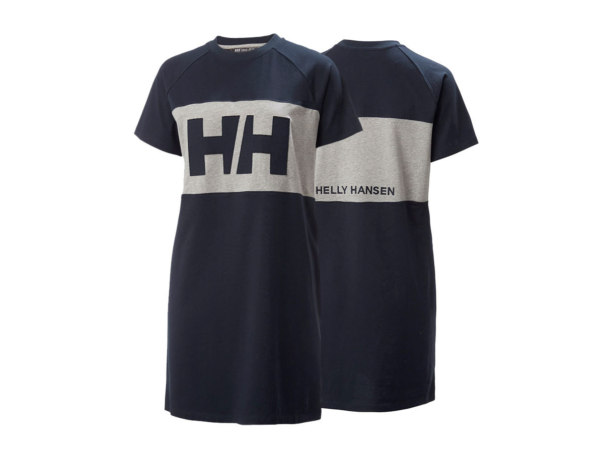 Helly Hansen W ACTIVE T-SHIRT DRESS - NAVY - M (53437_597-M )