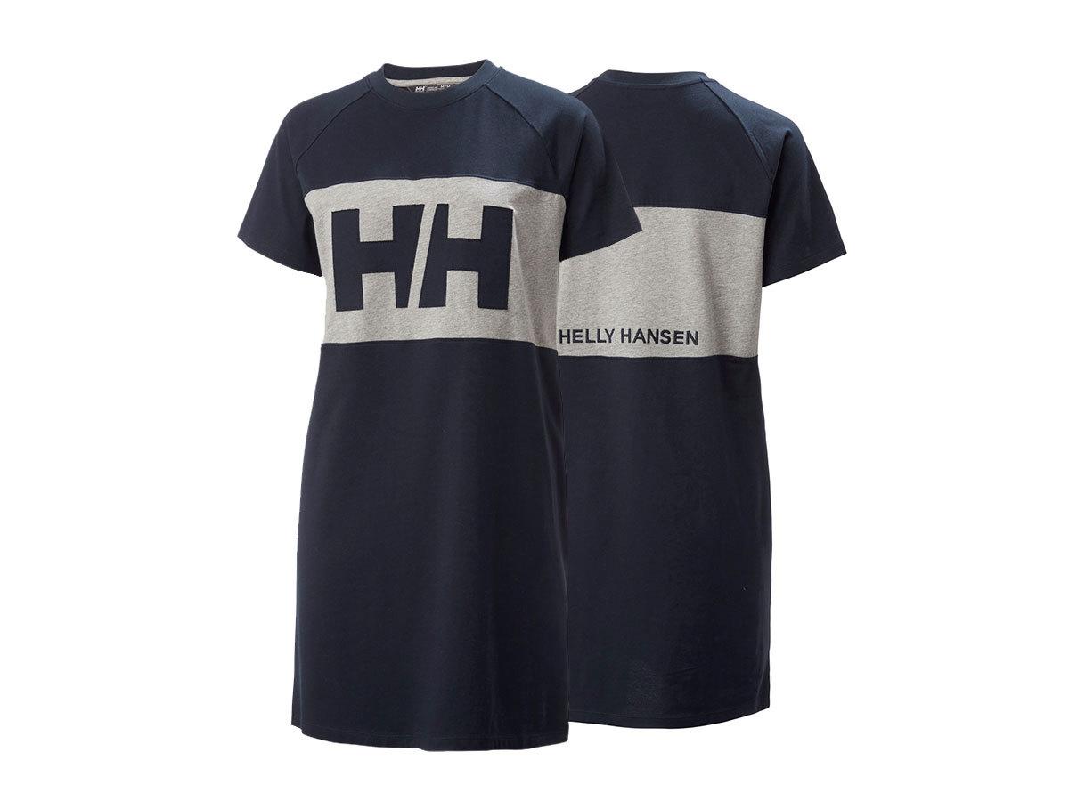 Helly Hansen W ACTIVE T-SHIRT DRESS - NAVY - L (53437_597-L ) - AZONNAL ÁTVEHETŐ