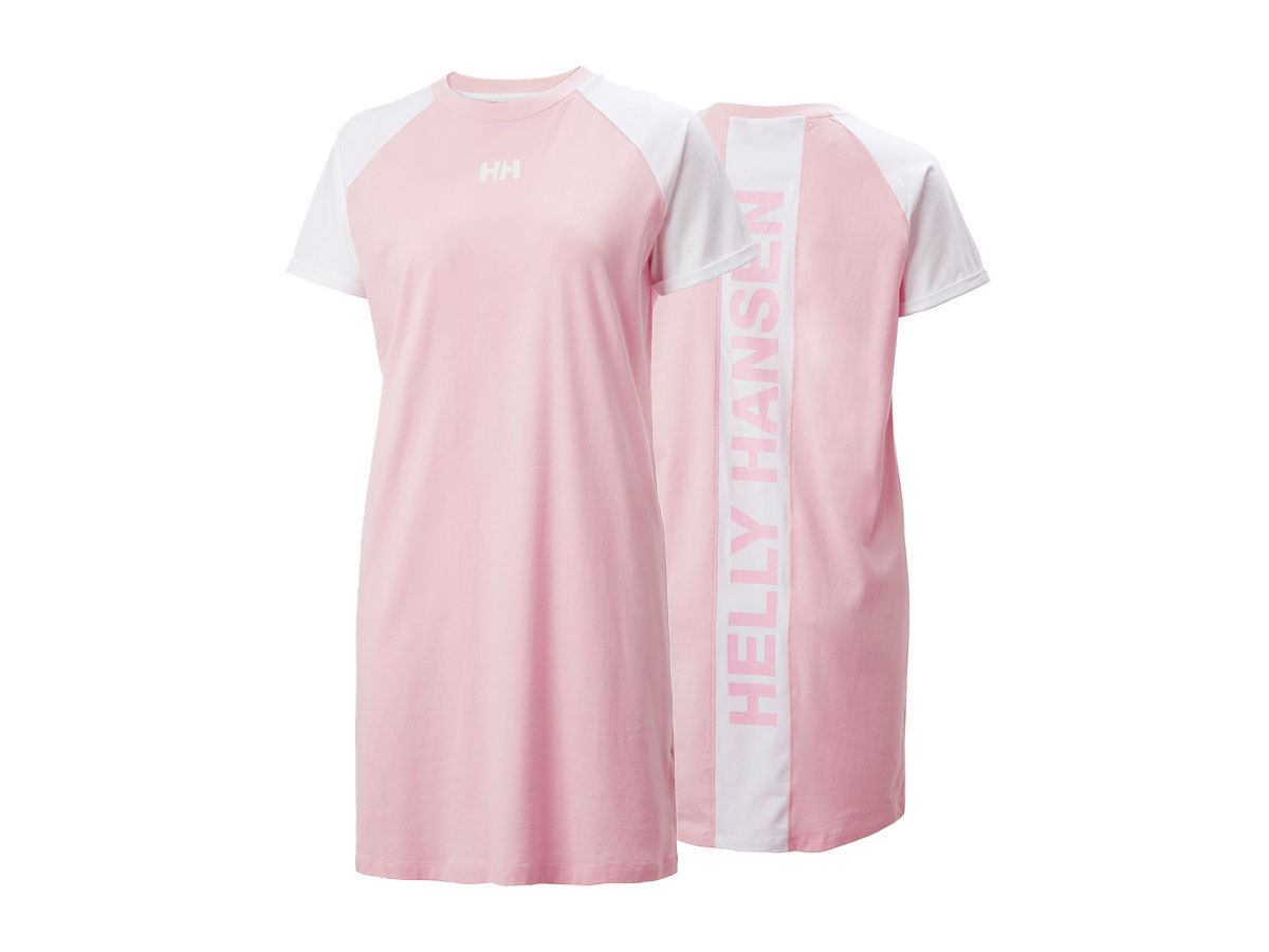 Helly Hansen W ACTIVE T-SHIRT DRESS - FAIRYTALE - L (53437_088-L )