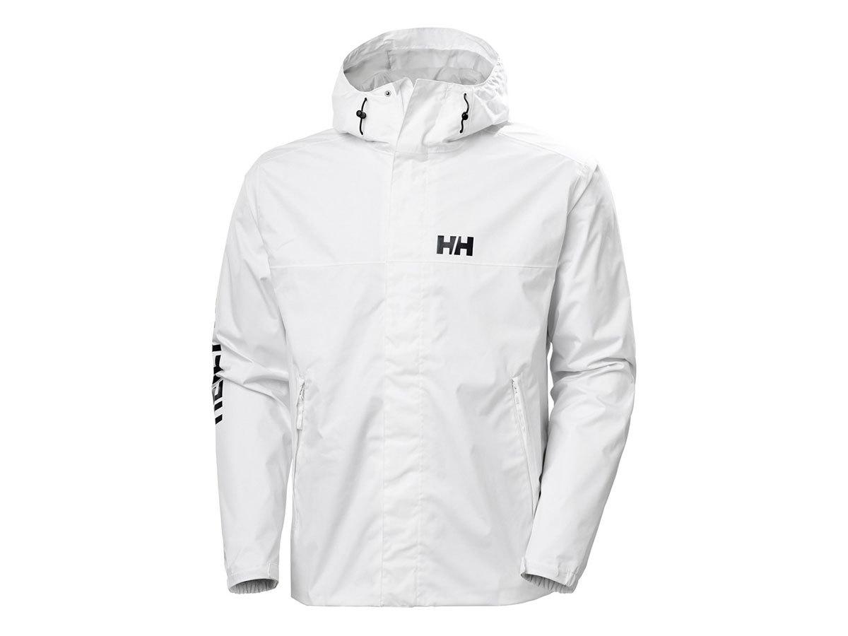 Helly Hansen ERVIK JACKET - WHITE - L (64032_001-L )