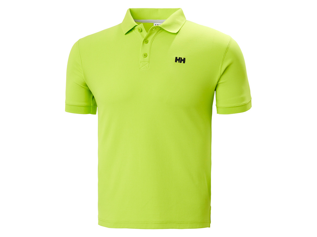 Helly Hansen TRANSAT POLO - AZID LIME - XL (33980_402-XL )
