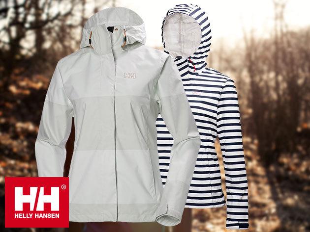 Helly Hansen W NINE K JACKET - vízálló, szélálló, lélegző kapucnis dzseki divatos új színekben