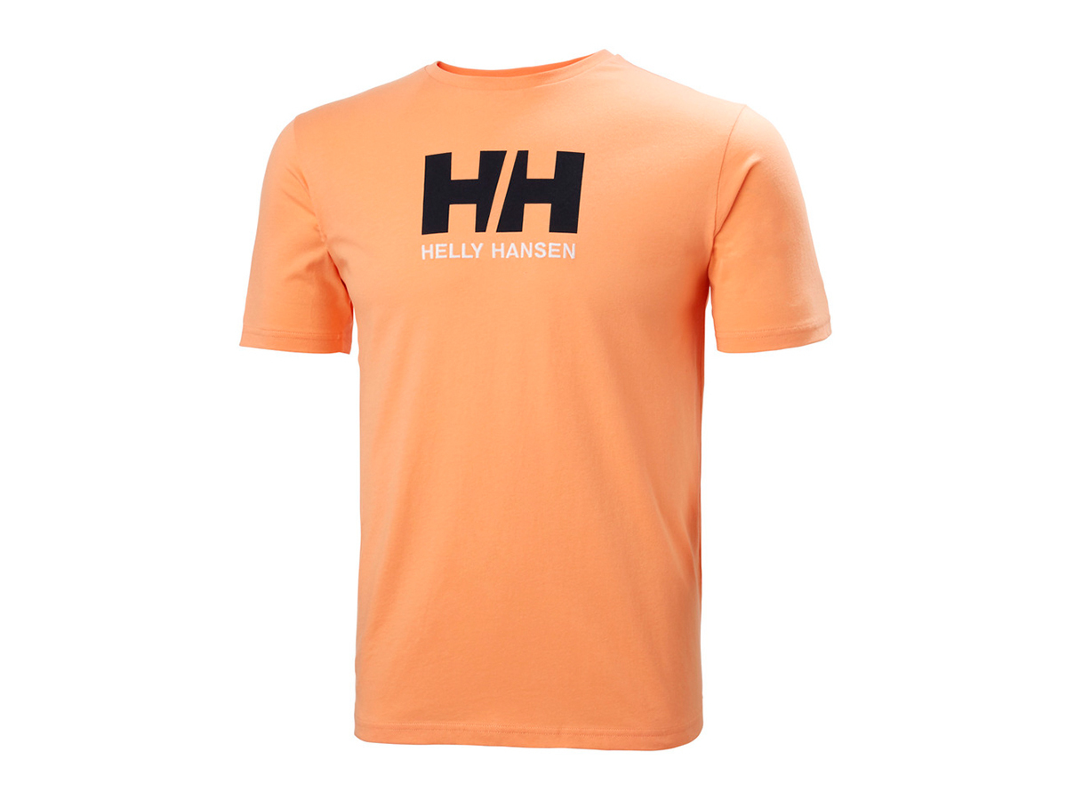 Helly Hansen HH LOGO T-SHIRT - MELON - XL (33979_071-XL )