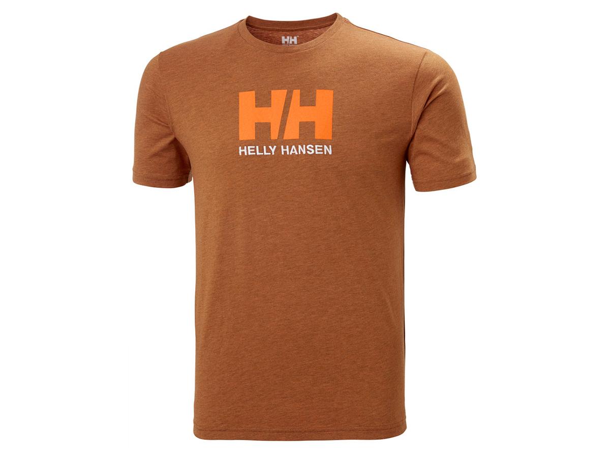 Helly Hansen HH LOGO T-SHIRT - MARMALADE - L (33979_283-L ) - AZONNAL ÁTVEHETŐ