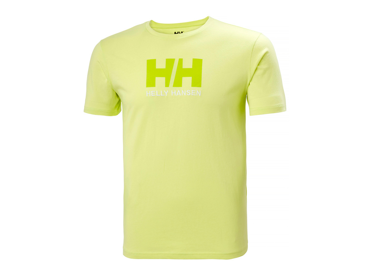 Helly Hansen HH LOGO T-SHIRT - SUNNY LIME - L (33979_379-L )