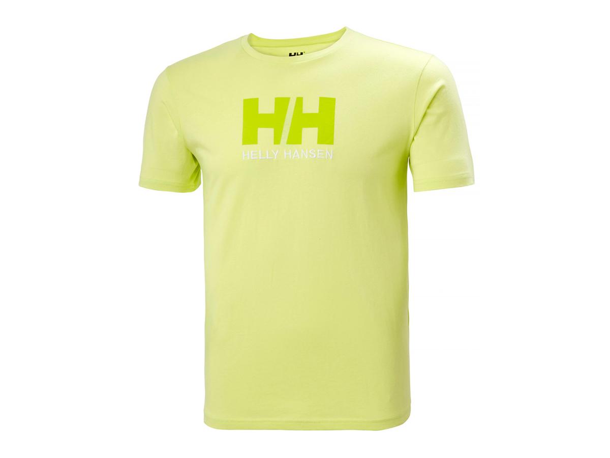 Helly Hansen HH LOGO T-SHIRT - SUNNY LIME - L (33979_379-L ) - AZONNAL ÁTVEHETŐ