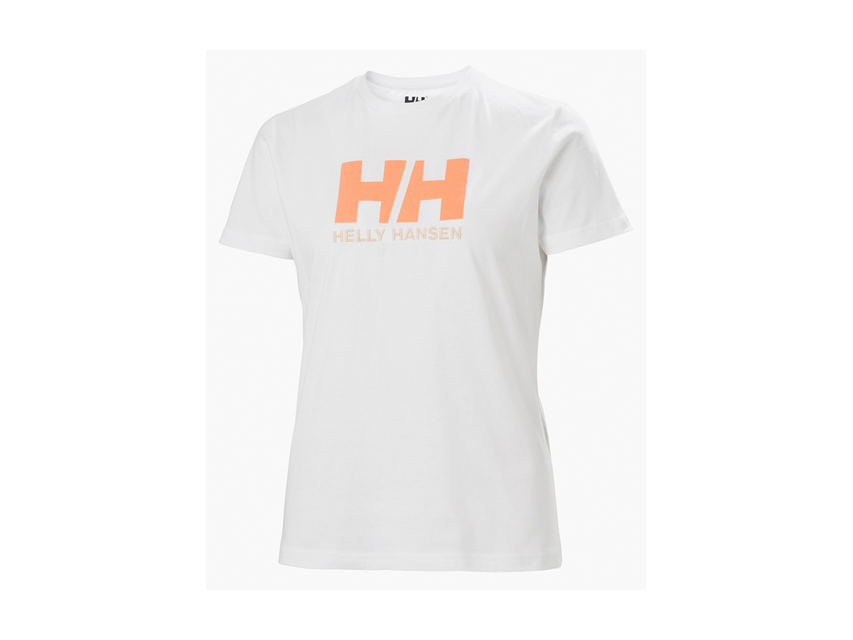 Helly Hansen W HH LOGO T-SHIRT - WHITE - XL (34112_003-XL )
