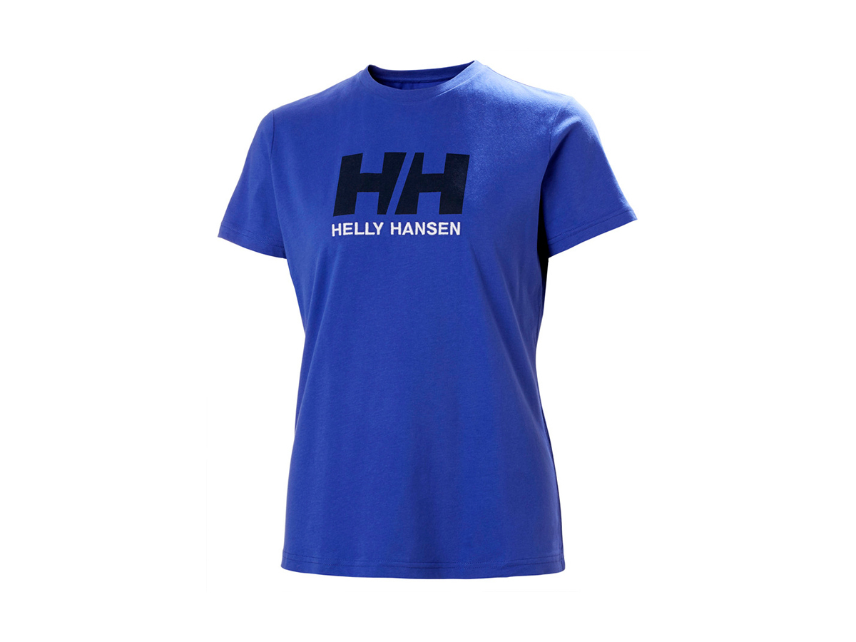 Helly Hansen W HH LOGO T-SHIRT - ROYAL BLUE - XS (34112_514-XS )