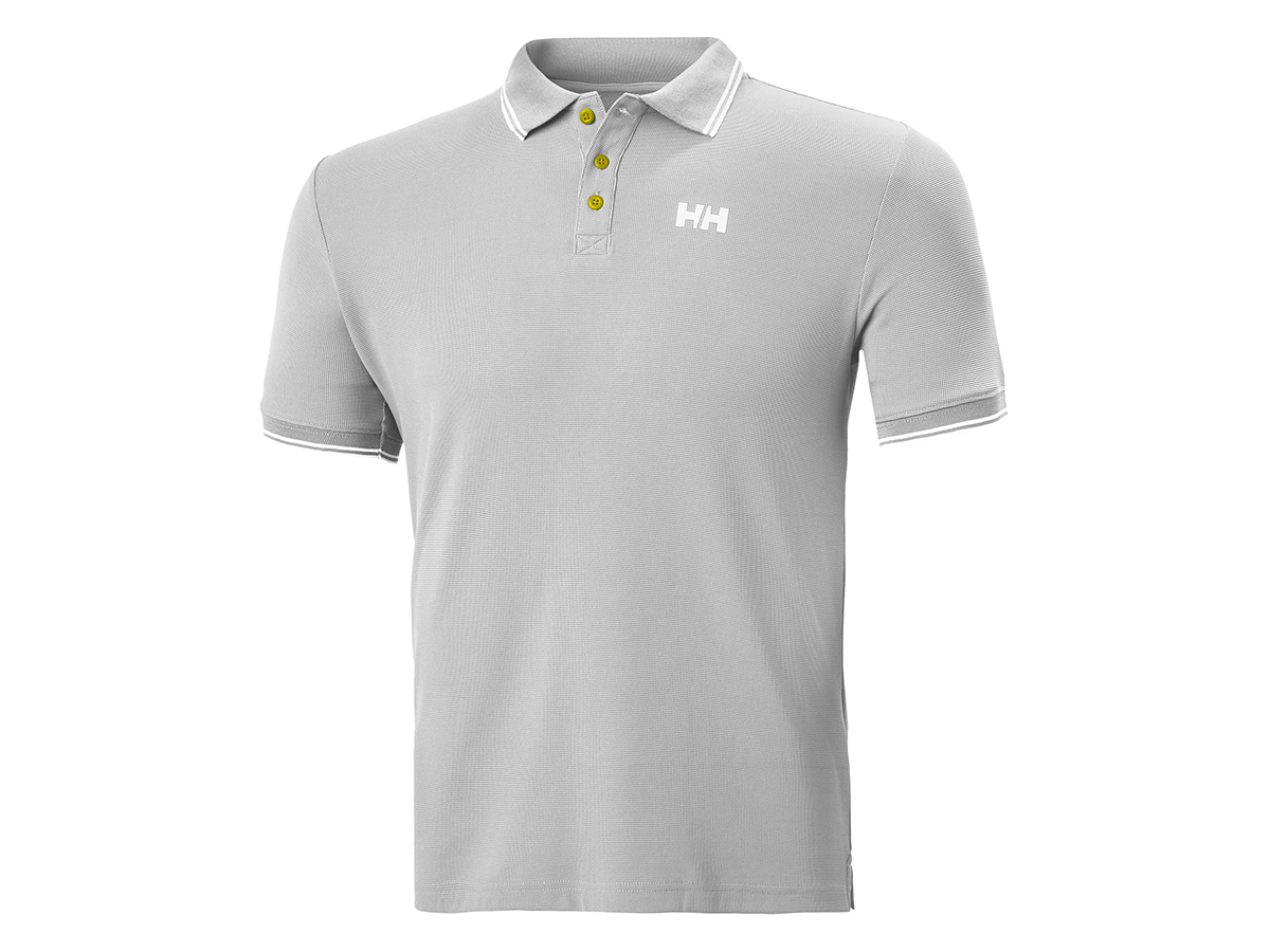 Helly Hansen KOS POLO - GREY FOG - XL (34068_853-XL )