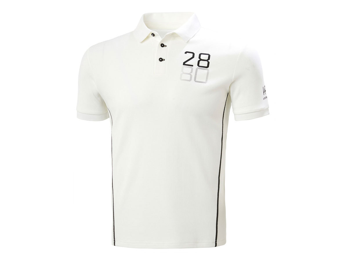 Helly Hansen HP RACING POLO - WHITE - L (34172_001-L )