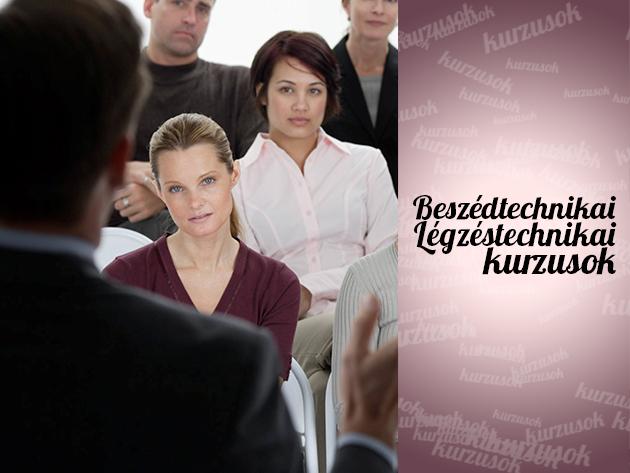 Beszédtechnikai és légzéstechnikai tanfolyamok, nem csak előadóművészeknek!