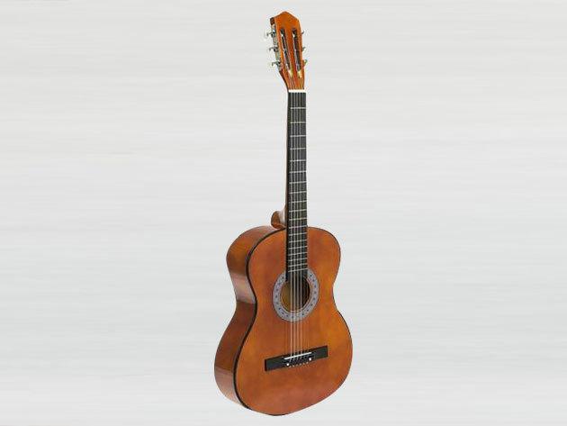 Akusztikus gitár szett kezdőknek - HOP1000982-2 barna