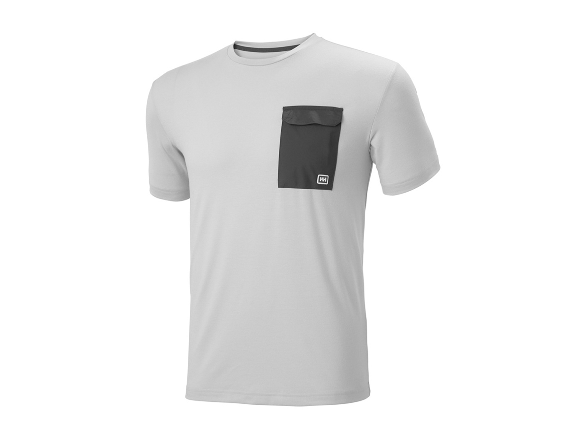 Helly Hansen LOMMA T-SHIRT - GREY FOG - S (62857_853-S )