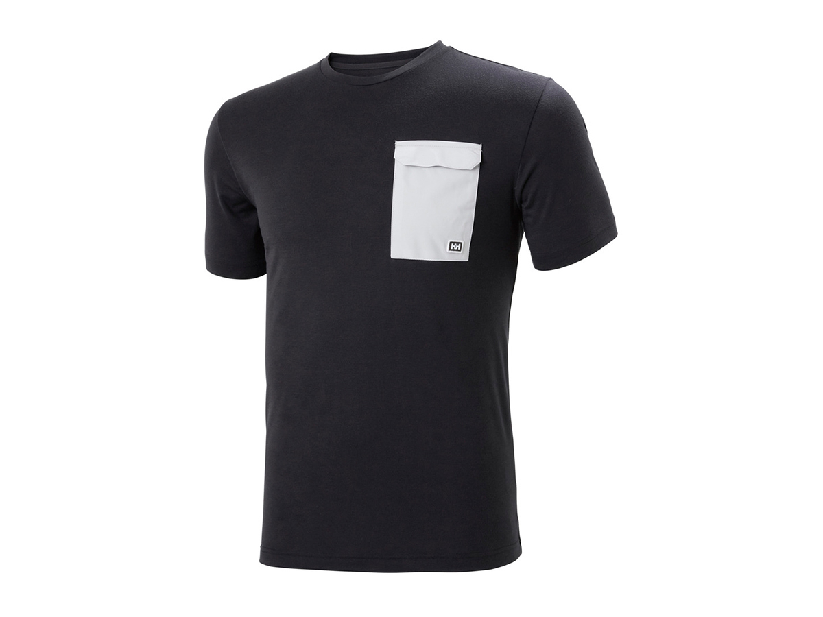 Helly Hansen LOMMA T-SHIRT - EBONY - XXL (62857_981-2XL )