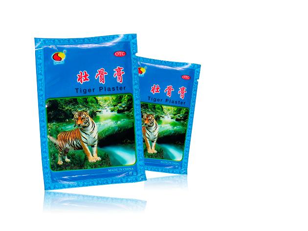 """40 csomag fájdalomcsillapító tradícionális kínai """"tigris tapasz"""" (5db/csomag)"""