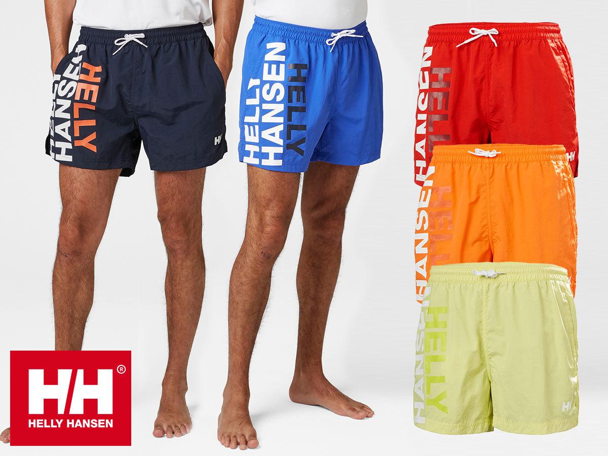 Helly Hansen CASCAIS TRUNK sokoldalú férfi rövidnadrág / úszónadrág, gyorsan száradó anyagból (XS-XXL)
