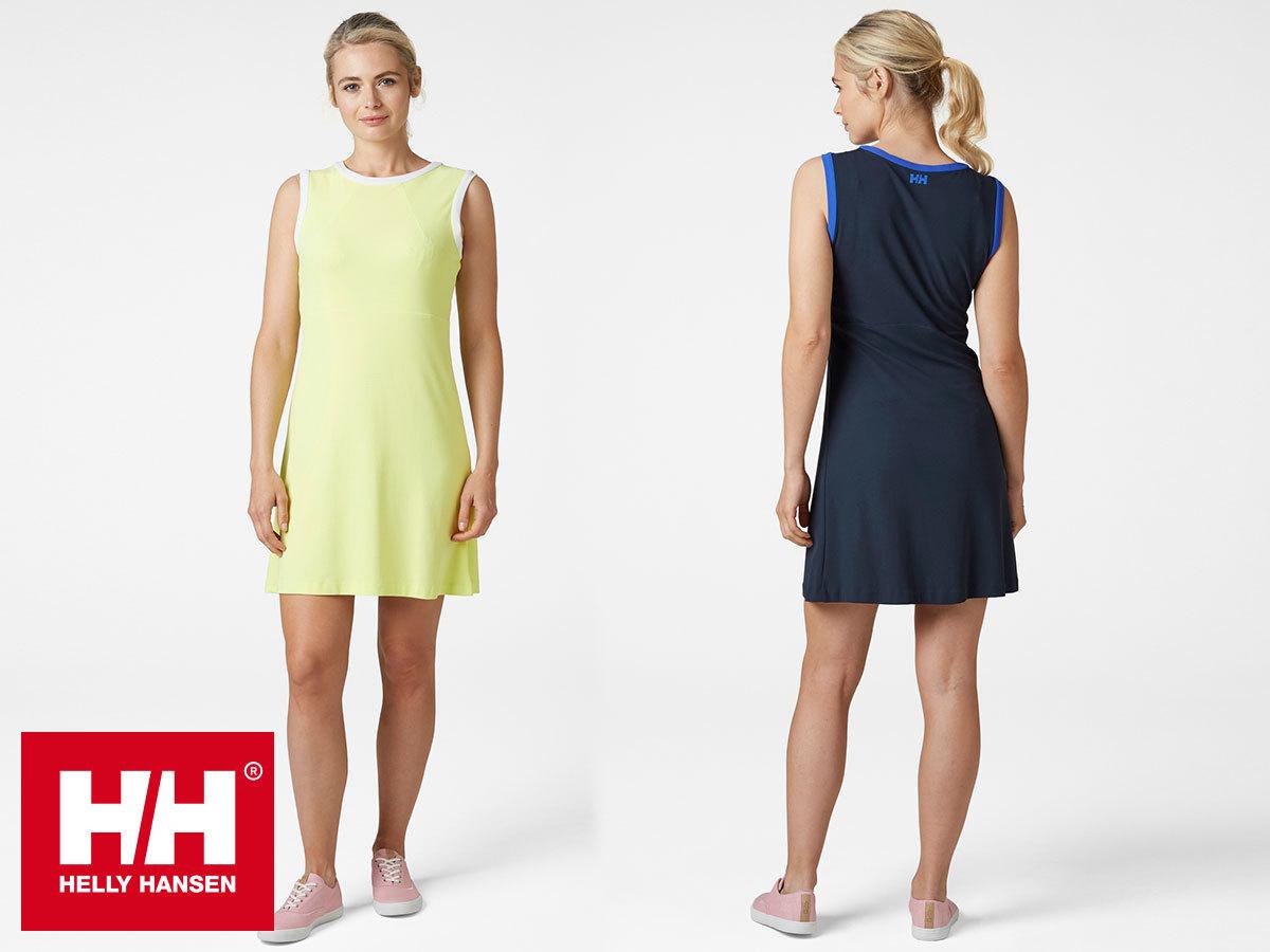 Helly Hansen W CODE ZERO DRESS - könnyű nyári ruha, gyorsan száradó Tactel® technikai anyagból, UPF40+ (XS-XL)
