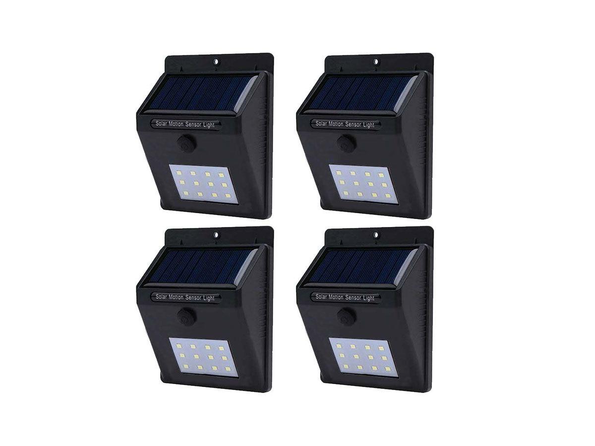 4 db-os falra szerelhető, szolár világítás - HOP1000962-1