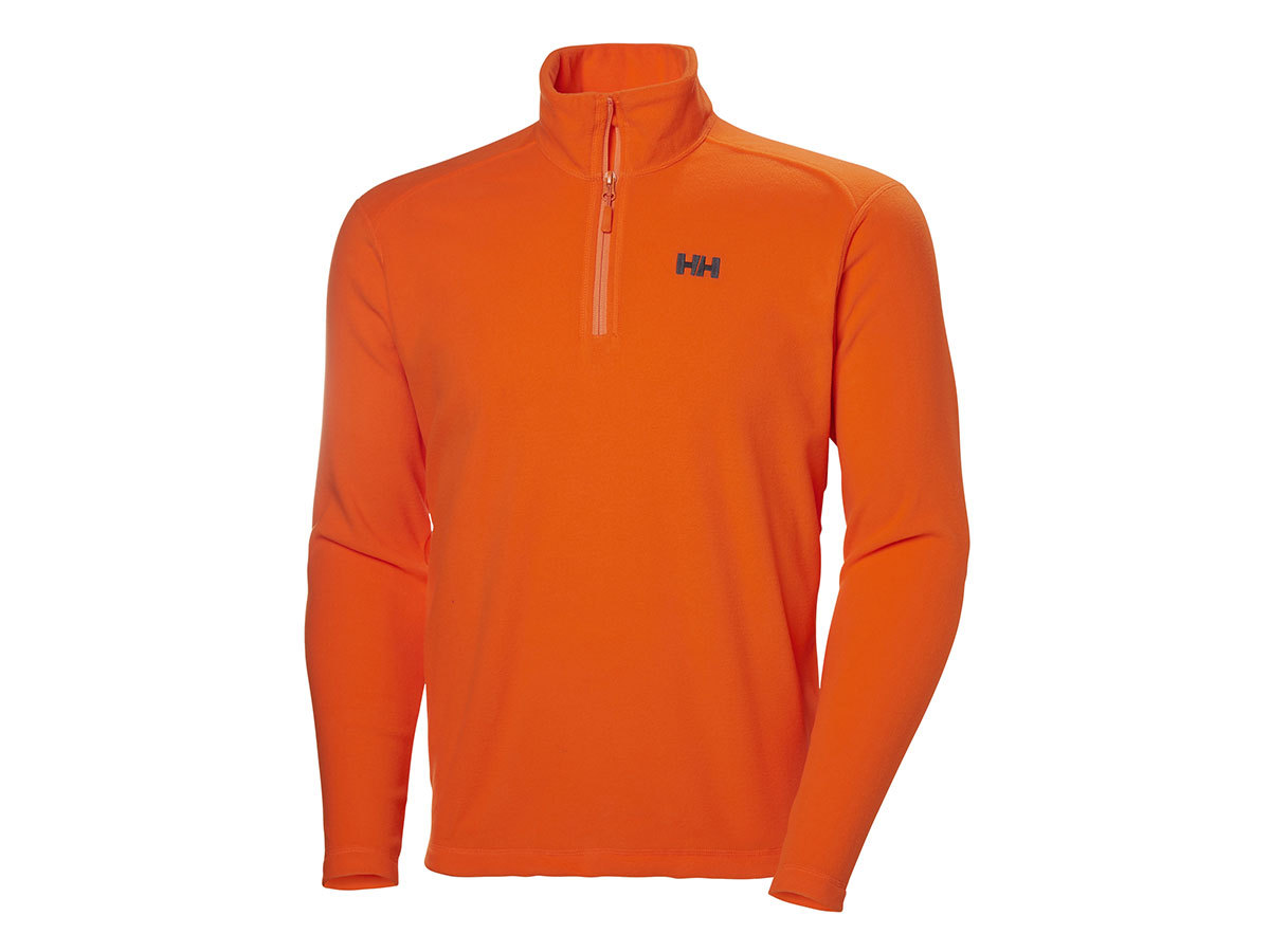 Helly Hansen DAYBREAKER 1/2 ZIP FLEECE - BRIGHT ORANGE - S (50844_226-S )