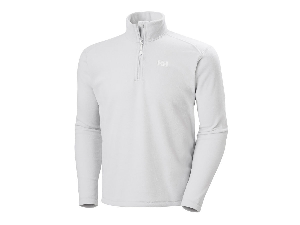 Helly Hansen DAYBREAKER 1/2 ZIP FLEECE - GREY FOG - S (50844_853-S )