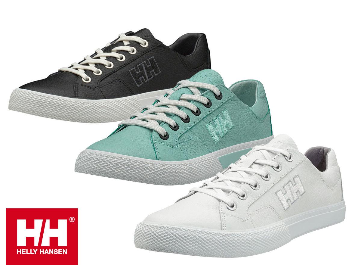 Helly Hansen W FJORD LV-2 stílusos bőr sportcipő nőknek, kényelmes EVA talpbetéttel (36-42 méretben)